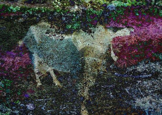 Capricorn Abstract by Sarah Vernon