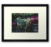 Capricorn Abstract Framed Print