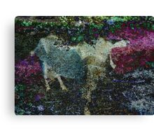 Capricorn Abstract Canvas Print