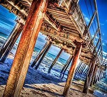 Under Henley Beach Jetty by robyn70