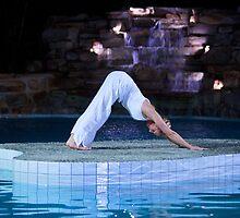 Island Yoga by AMPMphotography