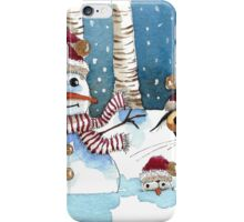 Fun in the snow iPhone Case/Skin