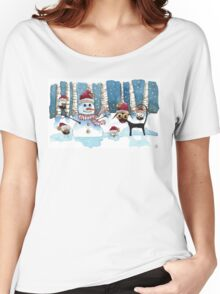Fun in the snow Women's Relaxed Fit T-Shirt