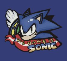 His Name is Sonic by Azukara