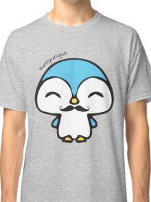 Mustache Penguin Kawaii Classic T-Shirt