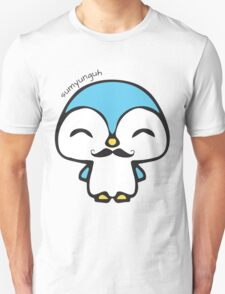 Mustache Penguin Kawaii T-Shirt
