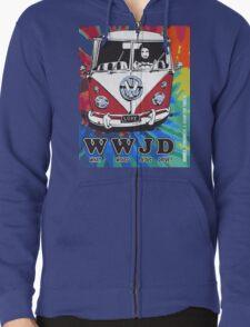 WWJD  ? tie dye T-Shirt