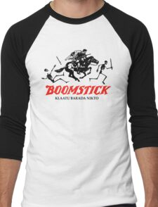 BOOMSTICK REPEATING ARMS!!  Men's Baseball ¾ T-Shirt