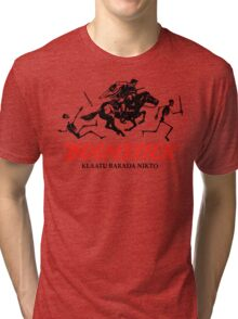 BOOMSTICK REPEATING ARMS!!  Tri-blend T-Shirt