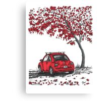 Love Bug Canvas Print