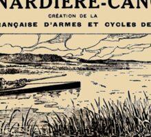 Canardiere-Canon Sticker