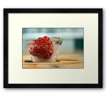 Summer Fruit Framed Print