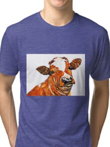 How Now Brown Cow Tri-blend T-Shirt
