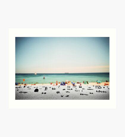 Cottesloe Beach Art Print