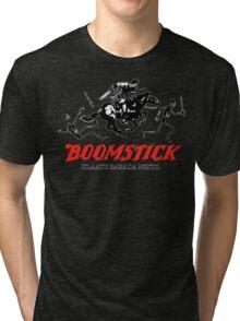 BOOMSTICK REPEATING ARMS!! (DARK) Tri-blend T-Shirt