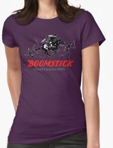 BOOMSTICK REPEATING ARMS!! (DARK) Womens Fitted T-Shirt