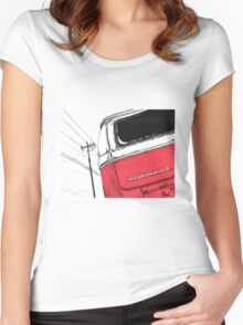 Red Bay Women's Fitted Scoop T-Shirt