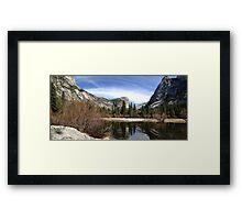 Mirror Lake - Yosemite Framed Print