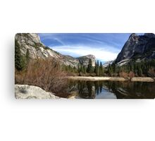 Mirror Lake - Yosemite Canvas Print
