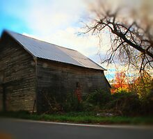 Barn at Sunset by Nazareth