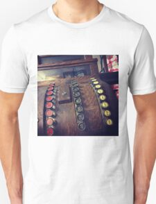 Vintage Cash Register  Unisex T-Shirt