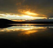 Sunset Lake by Brandonmichell
