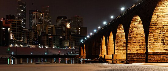 Stony Arch City View by Culrick99