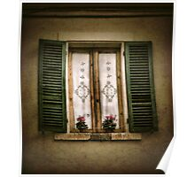 Tuscan Window Poster