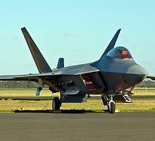Lockheed Martin F-22 Raptor by Bairdzpics