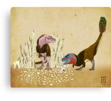 Lesser Bowertyrant (Gorgosaurus libratus) Canvas Print