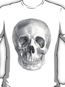 Albinus Skull 01 - Back To The Basic - White Background T-Shirt