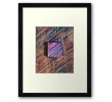 Abstract Wood Framed Print