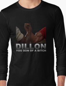 Arnold Predator Movie Dillon Long Sleeve T-Shirt