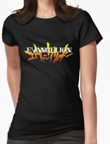 Neon Genesis Evangelion Womens Fitted T-Shirt