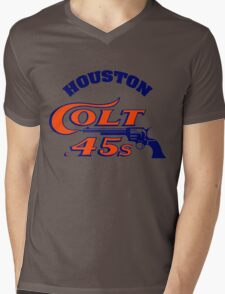 Houston Colt 45s Baseball Retro Mens V-Neck T-Shirt
