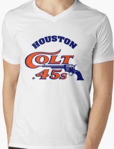 Houston Colt 45s Baseball Retro Mens V-Neck T-Shirt