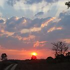 Feb 19th Sunset by BekJoy