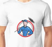 Chimney Sweeper Cleaner Worker Retro Unisex T-Shirt
