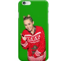Miley cyrus christmas iPhone Case/Skin