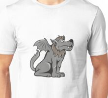 Kludde Wild Dog With Wings Unisex T-Shirt