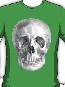 Albinus Skull 01 - Back To The Basic - Black Background T-Shirt
