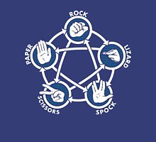 Rock Paper Scissors Lizard Sheldon Unisex T-Shirt