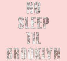No Sleep Til Brooklyn Beastie Boys Retro Kids Clothes