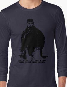 The Wire Omar Little Quote Long Sleeve T-Shirt