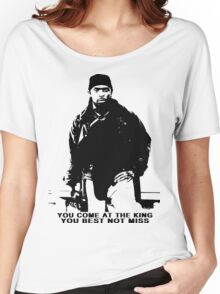 The Wire Omar Little Quote Women's Relaxed Fit T-Shirt