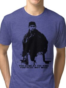 The Wire Omar Little Quote Tri-blend T-Shirt