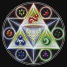Triforce - Legend of Zelda by Ngandeyar