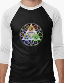 Triforce - Legend of Zelda Men's Baseball ¾ T-Shirt