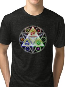 Triforce - Legend of Zelda Tri-blend T-Shirt