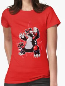 Groudon Womens Fitted T-Shirt